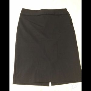 The Limited Navy Blue Pencil Skirt